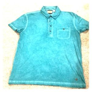 Hugo Boss Short Sleeve Garment Dyed Polo